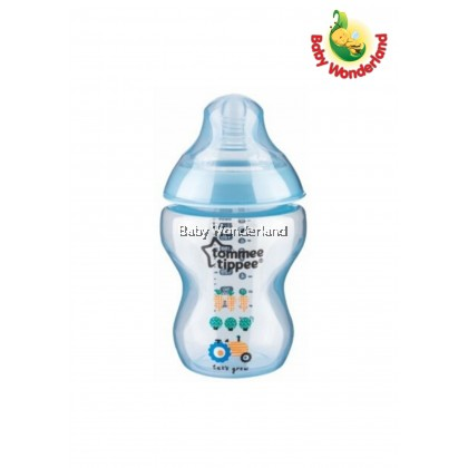 Tommee Tippee: Closer To Nature - Tinted Bottle 260ml / 9oz